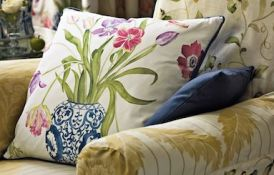 Painters Garden Cushion